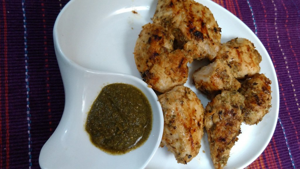 Pan Grilled Chicken - Chicken Recipes Hindi