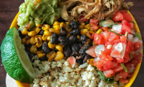 Pan Roasted Corn And Black Bean Burrito Bowls With ..