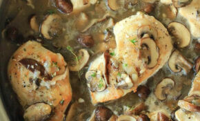 Pan Seared Chicken With A Wild Mushroom Thyme Sauce – Healthy Recipes Mushrooms