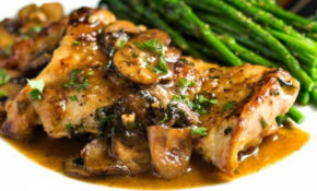Pan Seared Chicken With Mushrooms – Keviniscooking