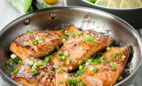 Pan Seared Marinated Salmon Fillets – Healthy Recipes Salmon