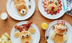 Pancake Animals: Food Network | Cooking With Kids : Food ...