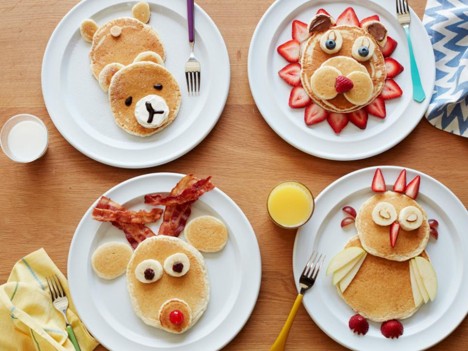 Pancake Animals: Food Network | Cooking With Kids : Food ..