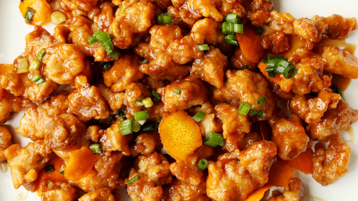 Panda Express Orange Chicken - food exp recipes