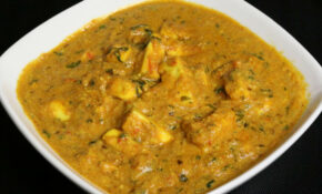 Paneer Makhani (Spicy Indian Cheese Curry) Recipe By Manjula – Curry Recipes Vegetarian