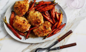 Panko Crusted Roast Chicken Thighs With Mustard And Thyme – Chicken Recipes Bon Appetit