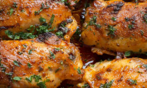 Paprika Baked Chicken Thighs Paprika Spice Blend – Let ..