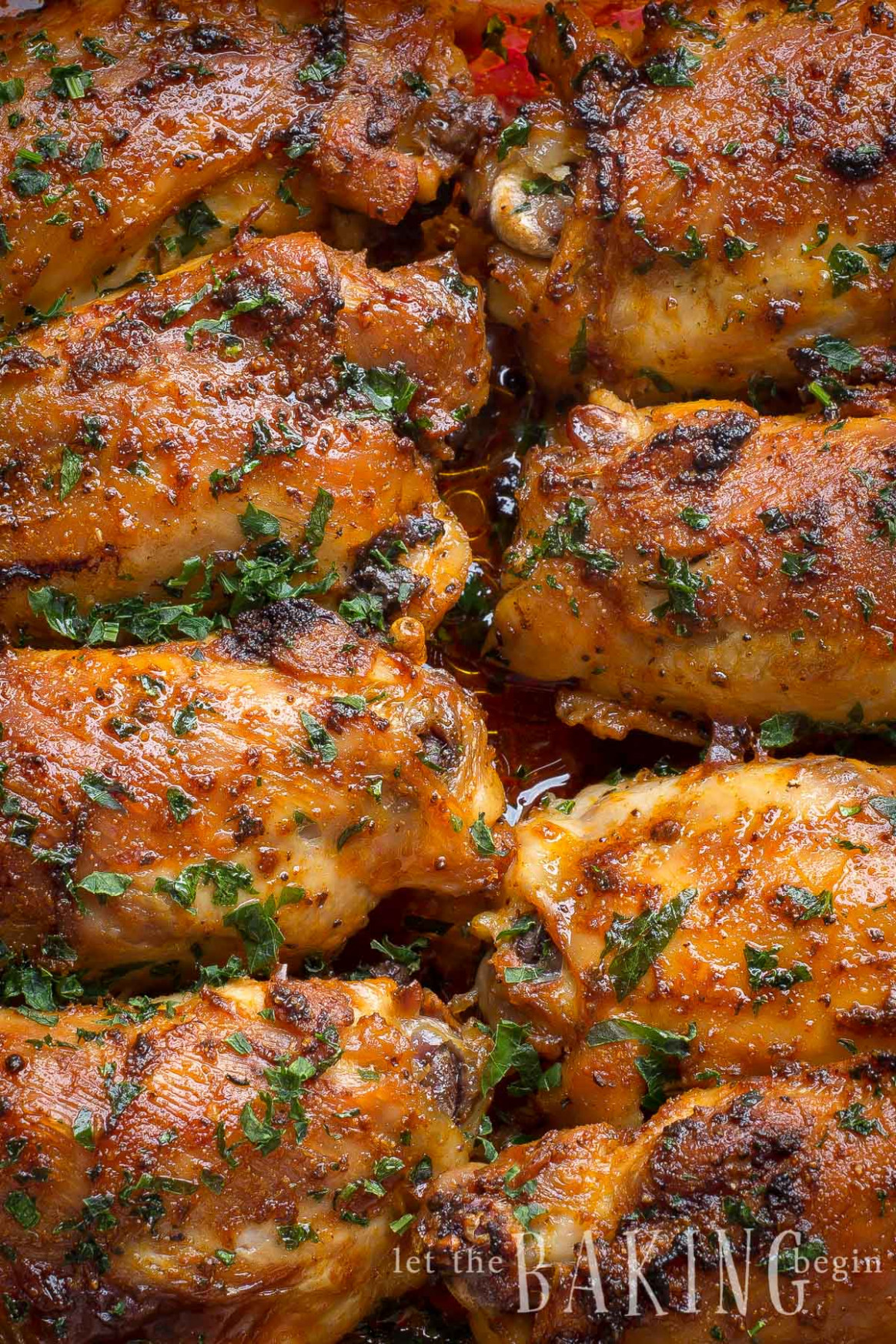 Paprika Baked Chicken Thighs Paprika Spice Blend - Let ..