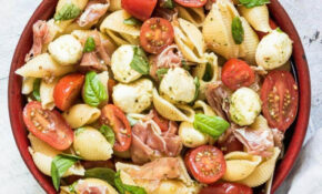 Parma Ham And Caprese Pasta Salad – Pasta Salad Recipes Vegetarian