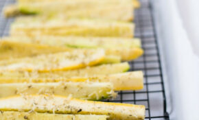 Parmesan Baked Squash And Zucchini Spears – Baked Zucchini Recipes Healthy