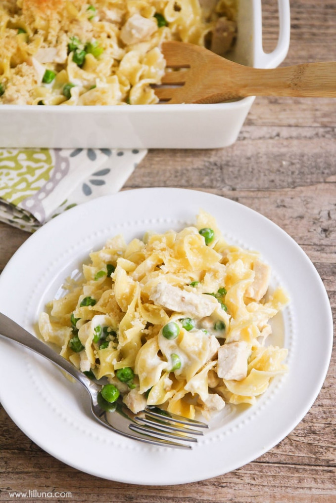 Parmesan Chicken And Noodles - Recipes Egg Noodles And Chicken