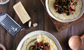 Parmesan Polenta With Thyme Mushroom Ragu | Del's Cooking Twist – Dinner Recipes Name
