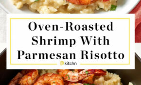 Parmesan Risotto With Roasted Shrimp – Healthy Recipes Shrimp