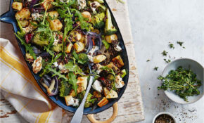 Parsnip, Broccoli And Goat's Cheese Bake – Tesco Recipes Vegetarian