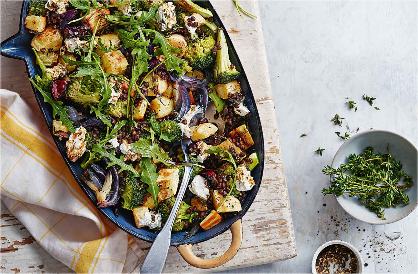 Parsnip, Broccoli And Goat's Cheese Bake - Tesco Recipes Vegetarian