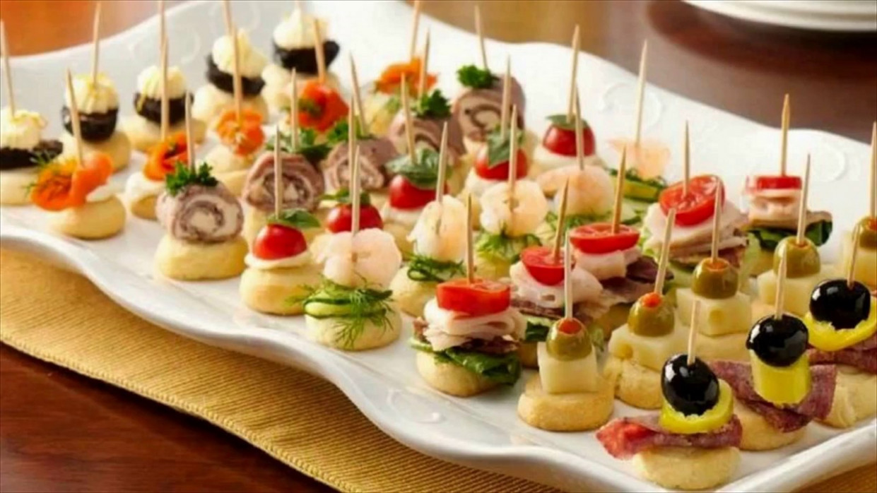 Party Appetizers Finger Food - YouTube - xmas party food recipes