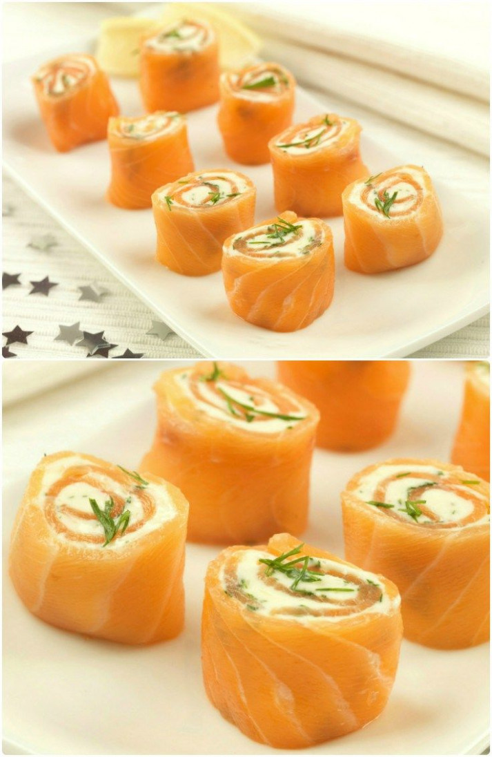 Party Food Recipes : Salmon Pinwheels | Food! | Easy ..