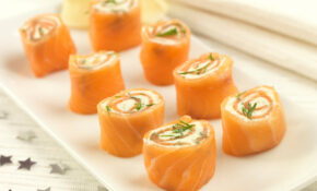 Party Food Recipes : Salmon Pinwheels – In The Playroom – Xmas Party Food Recipes