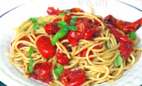 Pasta With Basil & Charred Skillet Tomatoes – Pasta Recipes Vegetarian