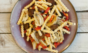 Pasta With Roasted Fennel And Vegetarian Sausage – Fennel Recipes Vegetarian