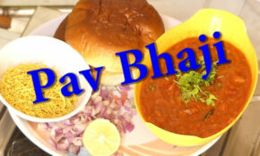 Pav Bhaji Recipe In Kannada |Indian Fast Food Recipe |Easy ..