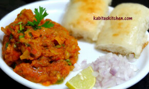 Pav Bhaji Recipe-Mumbai Style Pav Bhaji-Indian Fast food ...