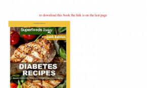 PDF] Download Diabetes Recipes Over 112 Diabetes Type12 Low ..