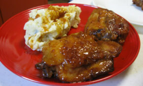 Peach Whiskey BBQ Chicken – Chicken Recipes Ree Drummond