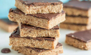 Peanut Butter Cookie Bars Recipe Healthy Snack For Kids – Recipes Healthy Snacks