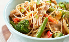 Peanut Noodles With Chicken And Vegetables – Noodle Recipes Chicken