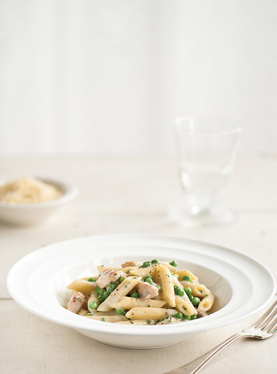 Penne with Chicken and Gruyère Cheese Sauce | Ricardo - chicken recipes ricardo