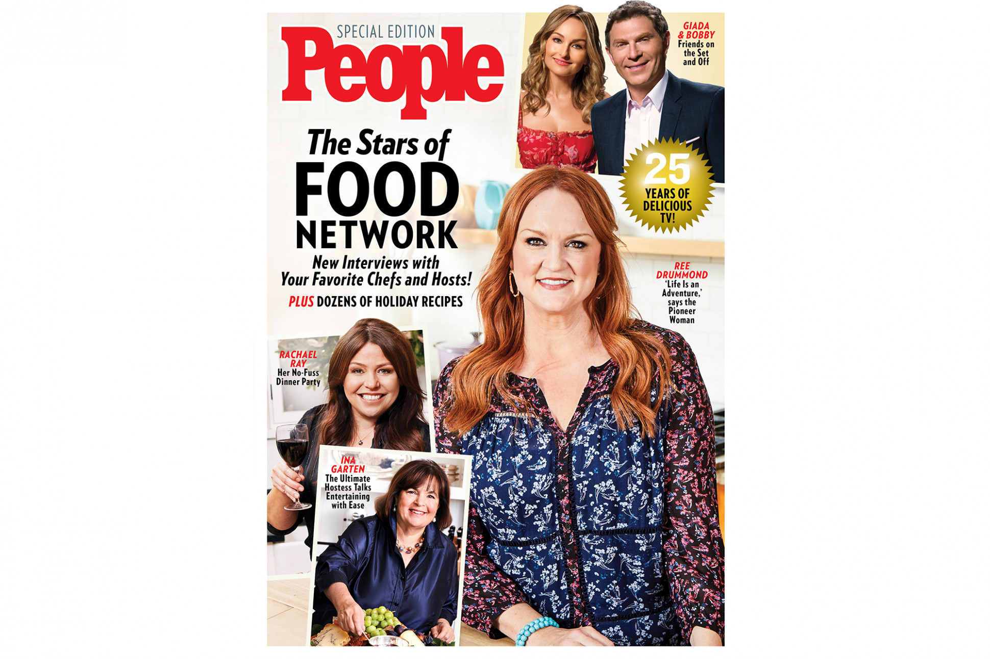 People Celebrates The Stars Of Food Network With Special ..