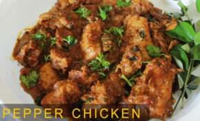 Pepper Chicken Dry | Tasty & Spicy Non Veg Recipe | Indian Chicken Recipes  | Kanak's Kitchen – Recipes Non Vegetarian
