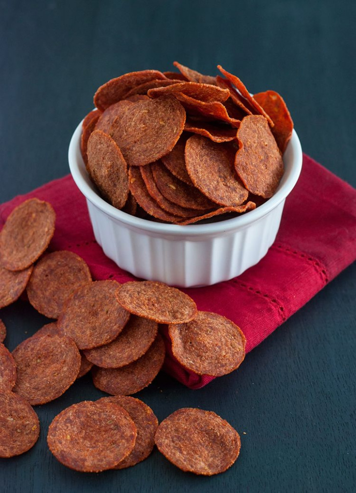 Pepperoni Chips | Recipe | Low Carb | Low Carb Recipes, No ..