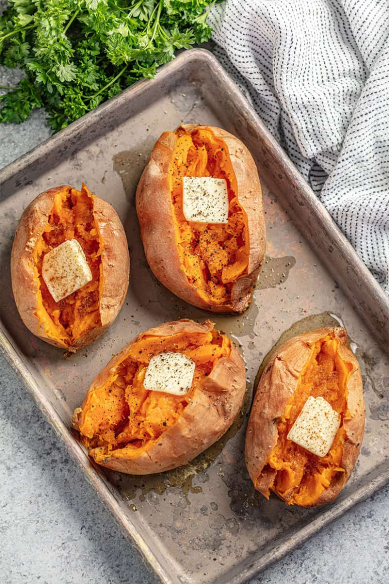 Perfect Baked Sweet Potatoes - recipes sweet potatoes healthy