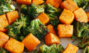 Perfectly Roasted Broccoli & Sweet Potatoes – Healthy Vegetarian Recipes Dinner