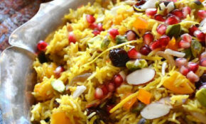 Persian Jeweled Rice | Recipe | Vegan | Food, Persian rice ...