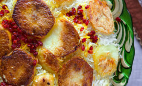 Persian Rice With Potato Tahdig | In Search Of Yummy Ness – Recipes Persian Food