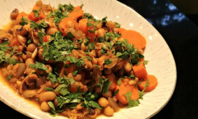 Persian-Style Carrots & Black-Eyed Peas' | Around Anna's Table