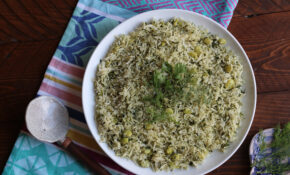 Persian Style Dill Rice Recipe – Persian Food Recipes
