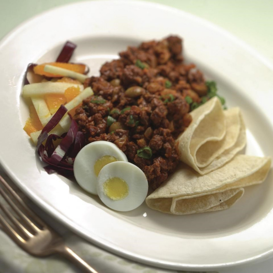 Picadillo Recipe - EatingWell - meat recipes dinner