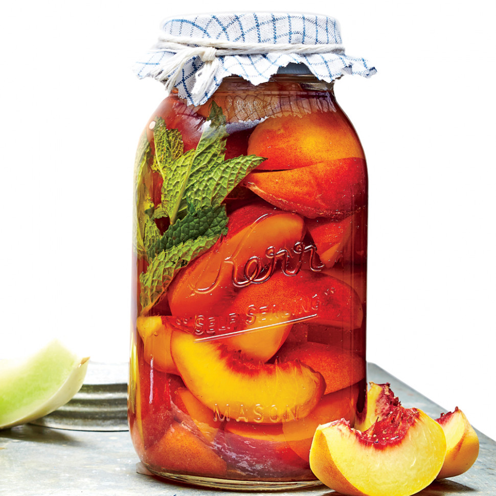 Pickled Peaches Recipe | MyRecipes - healthy slow cooker recipes chicken