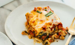 Picture Perfect Vegetable Lasagna Recipe – Easy & Fast Recipes – Recipes For Vegetarian Lasagna