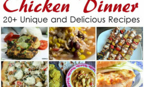 Pieces by Polly: 20+ Chicken Dinner Recipes and Weekly ...