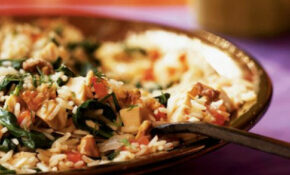 Pilaf With Chicken, Spinach, And Walnuts – Transitional ..