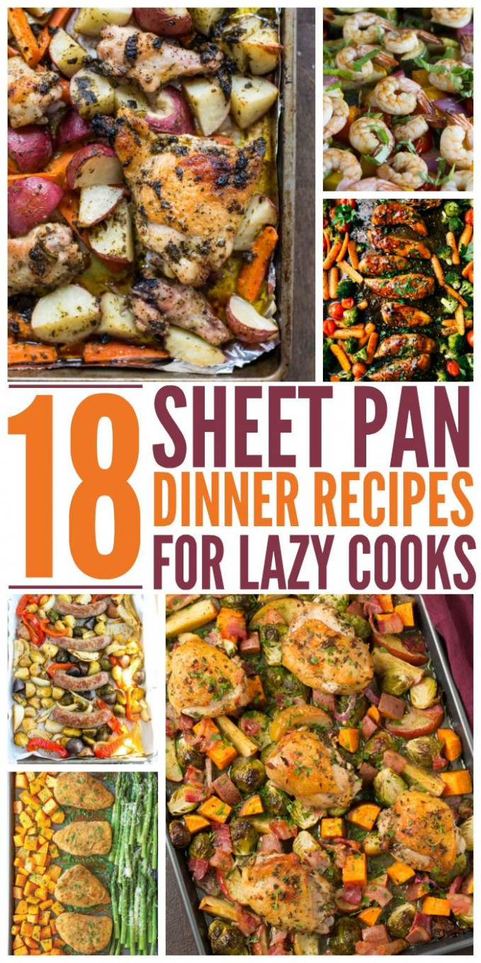 Pin on One pan meals - recipes to cook for dinner