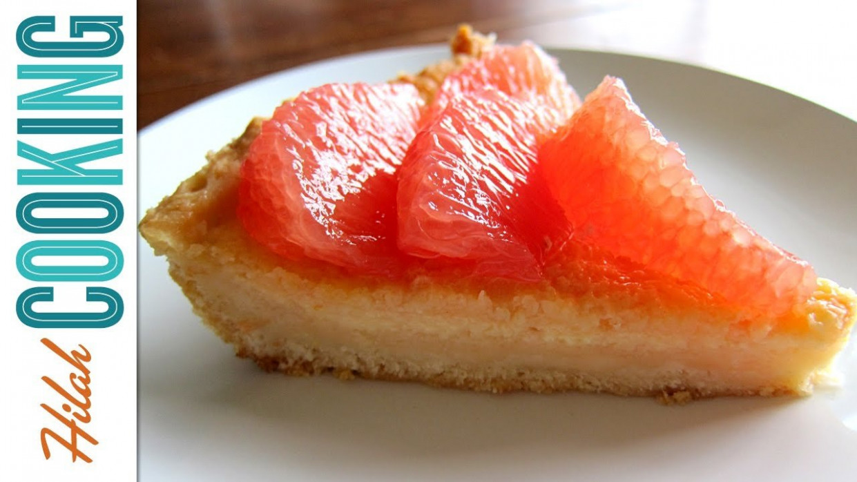 Pink Grapefruit Pie - Unique Dessert Recipe - Recipes For ..