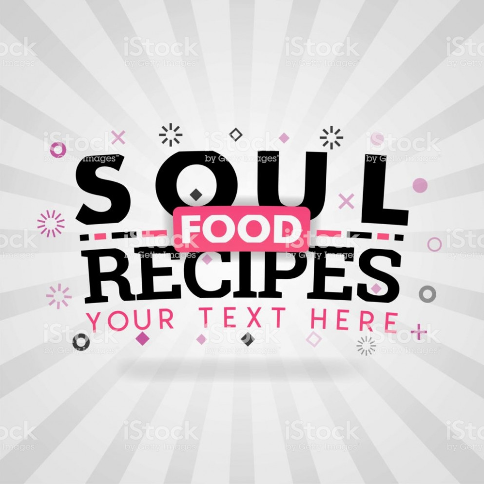 Pink Logo For Soul Food Recipes For Recipe Websites Food ... - Recipes Today
