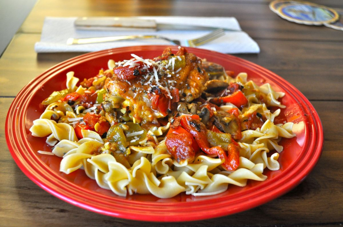 Pioneer Woman's Chicken Cacciatore – Rookie Cook Recipes - pioneer woman recipes chicken
