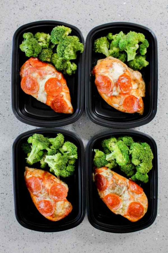 Pizza Chicken Meal Prep Recipe - Meal Prep on Fleek™ - chicken recipes meal prep